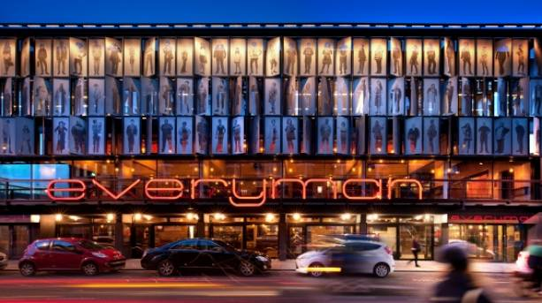 Entrance to the Everyman theatre