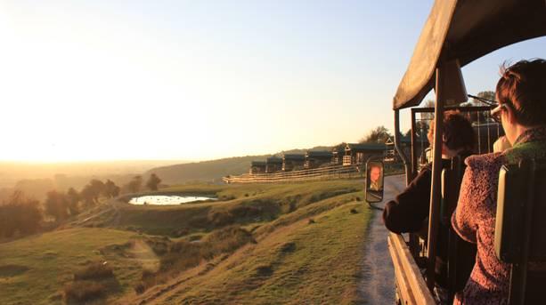 Livingstone Lodge Overnight Safari Experience at dusk