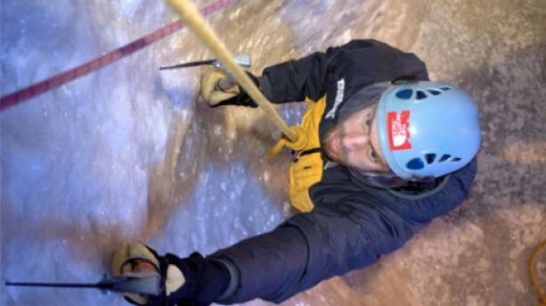 Indoor Ice Climbing at Vertical Chill; Covent Garden