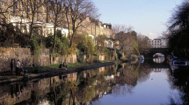 The Regent's Canal in London