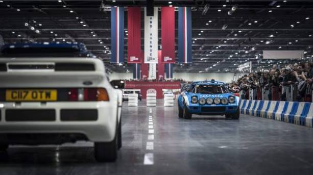 The Grand Parade at the London Classic Car Show
