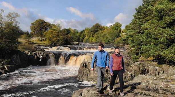 Low Force waterfalls, Durham Dales