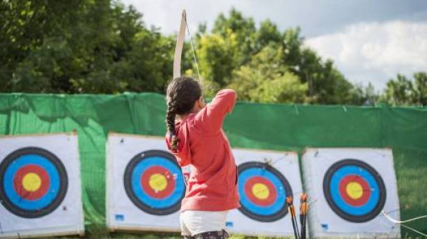 Archery at Mount Cook Adventure Centre