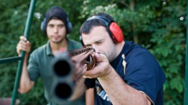 Avalanche Adventure clay pigeon shooting