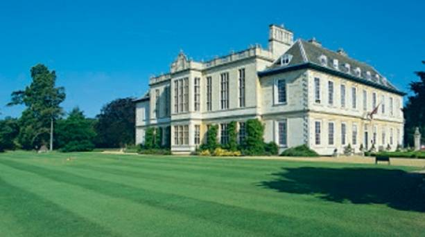 Exterior view of Stapleford Park from the Golf Course