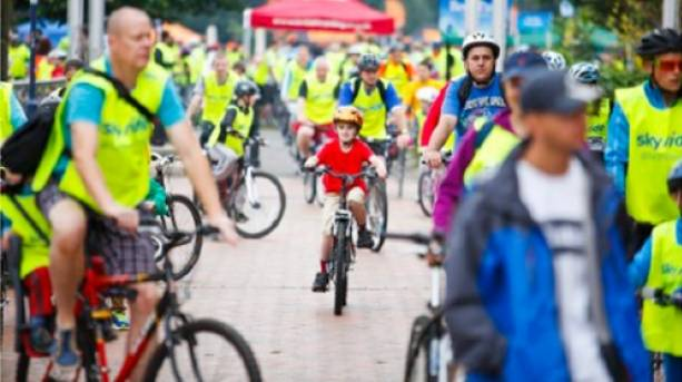 Take a traffic-free bike ride in Leicester