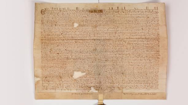 Faversham Magna Carta 1300