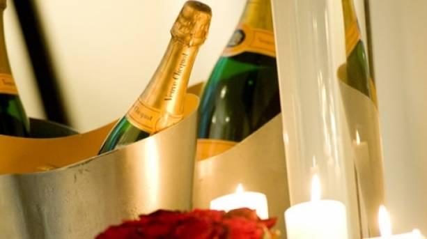 Champagne and Roses at Malmaison