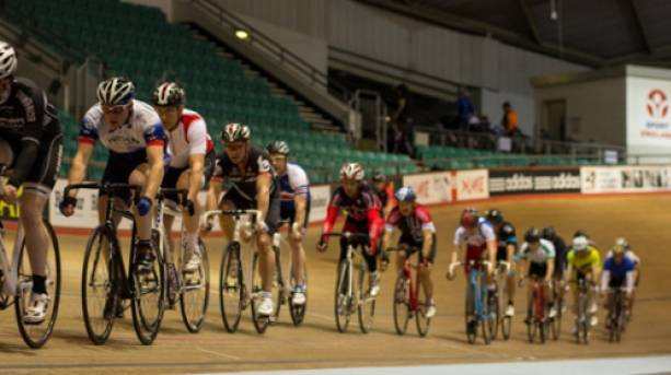 On the track at National Cycling Centre