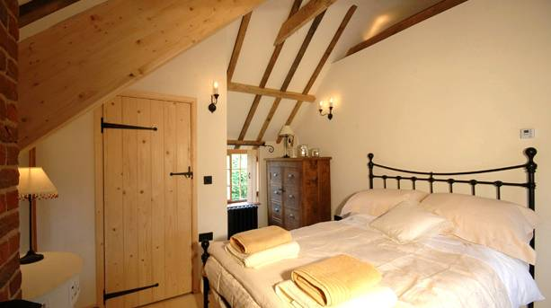 Bedroom at Manor House Stables