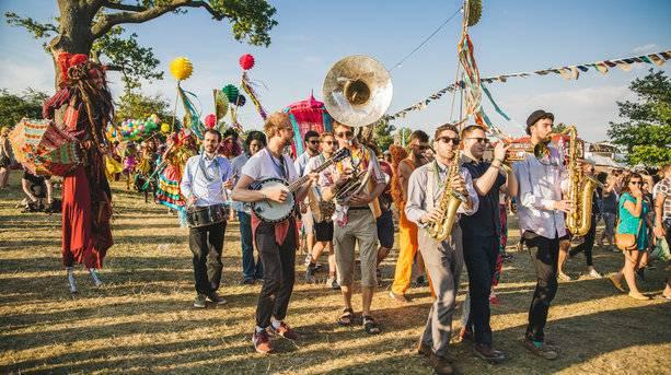 Marching Band and Parade © Olivia Williams