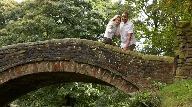 The Packhorse Bridge, Marsden Moor Estate