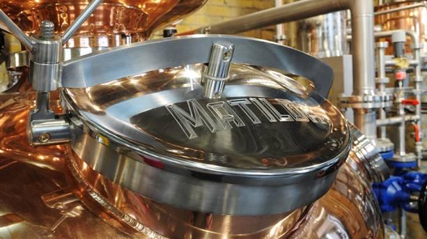 Matilda the gin at The London Distillery Company