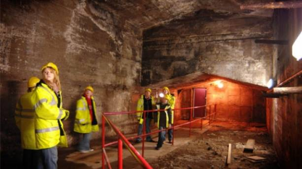 Exploring the Mersey tunnels