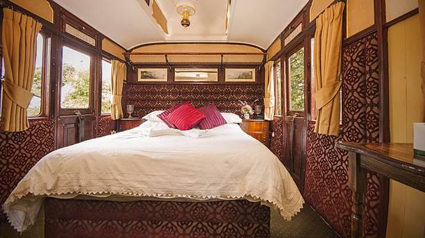 A bedroom at Railholiday