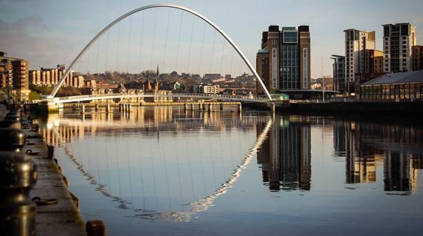 Millenium Bridge, Gateshead