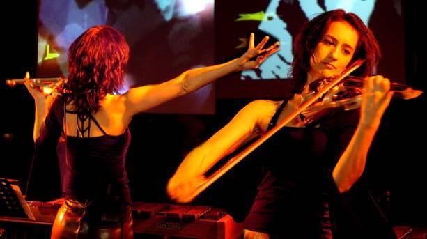Monica Germino at the Huddersfield Contemporary Music Festival