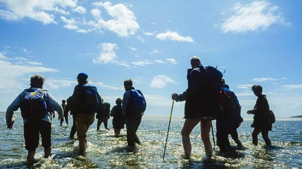 Crossing Morecambe Bay