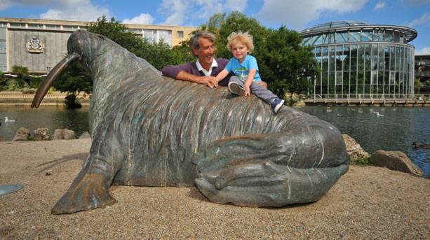 Big Walrus in Mowbray Park