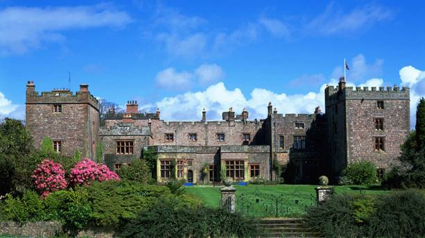 Muncaster Castle in the Lake District