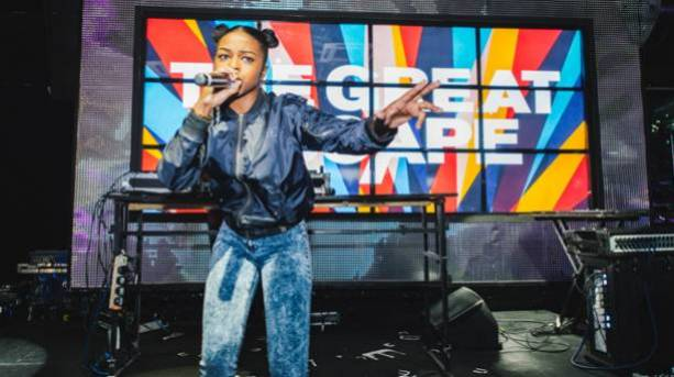 Nadia Rose Shooshh at The Great Escape