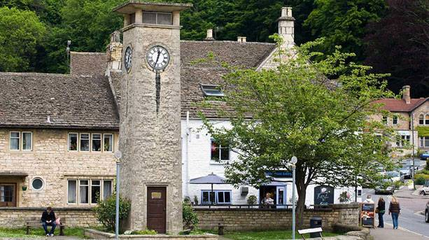 The centre of Nailsworth