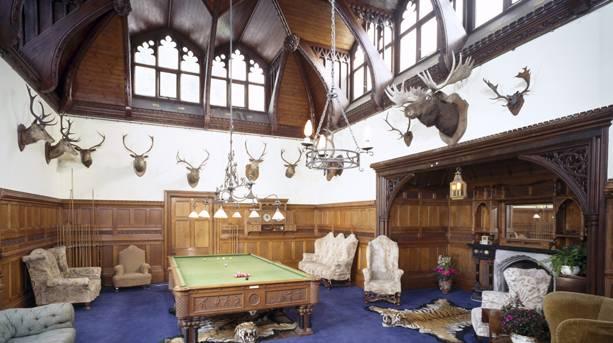 Tyntesfield House Billiard Room