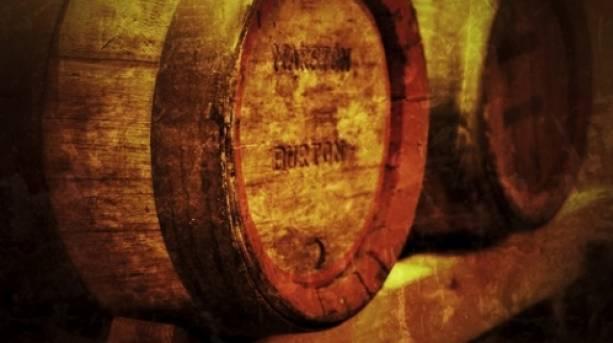 National Forest & Beyond - Marston's barrel on a stilage