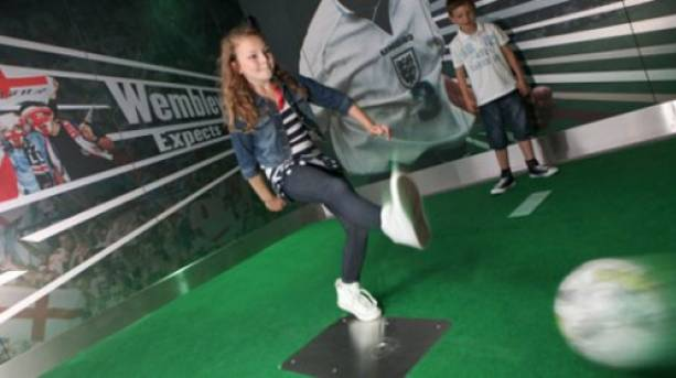 Take a penalty at the National Football Museum