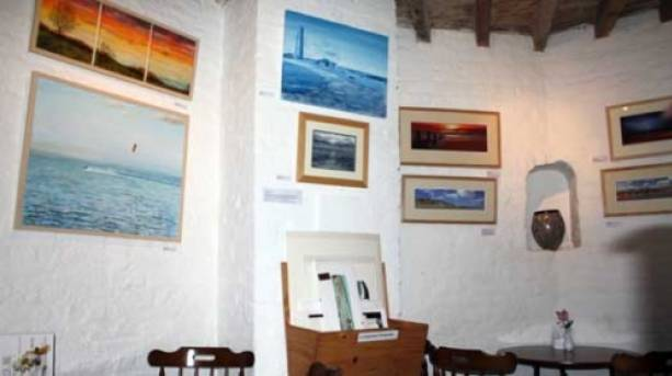 Exhibitions throughout the season of up coming artists from East Anglia