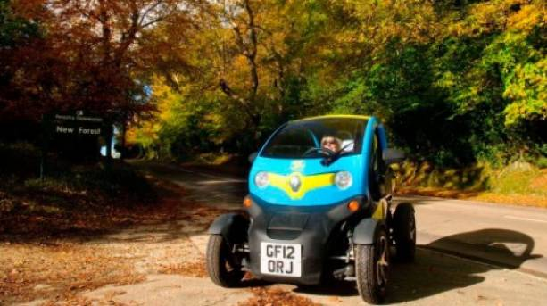 Brand New Forest Twizy exploring