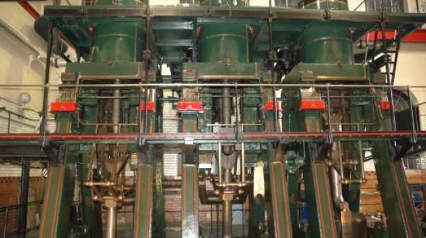 A working steam engine