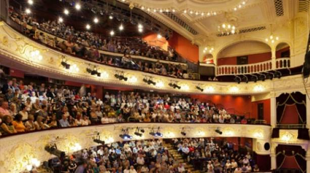 A packed auditorium at Theatre Royal Newcastle