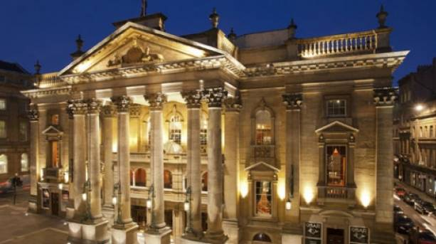 The stunning Theatre Royal, regional home to the RSC.