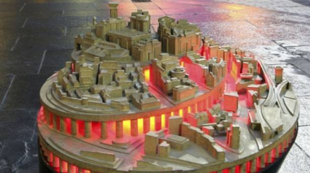 Grainger Town Map - Tod Hanson & Simon Watkinson (2003)