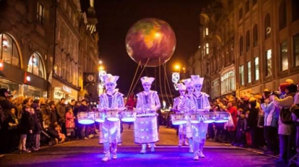 NewcastleGateshead New Year's Eve Winter Carnival Festival