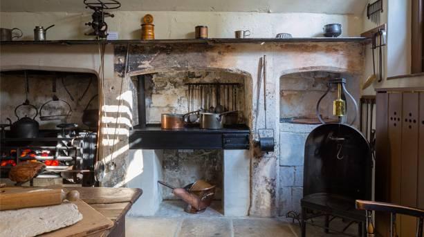 Servants kitchen at No.1 Royal Crescent