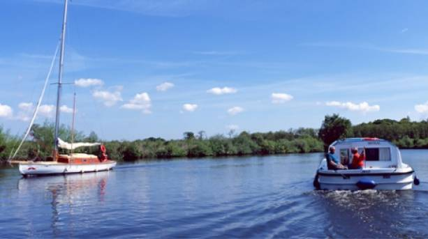 Sailing holidays on the Broads