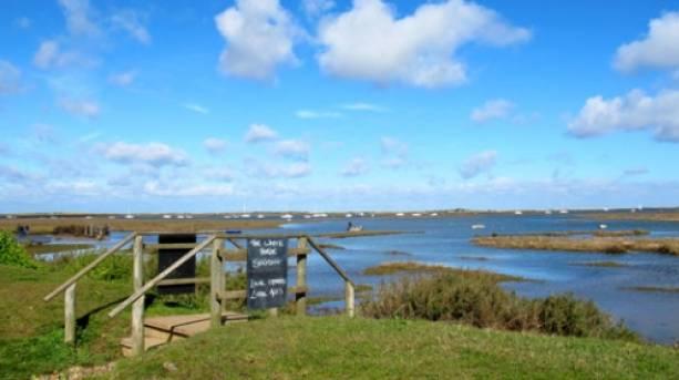 Tidal marshes of Brancaster Staithe