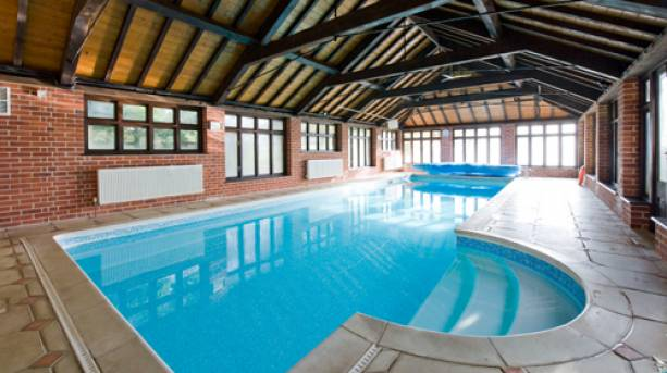 Swimming pool at Felbrigg Lodge