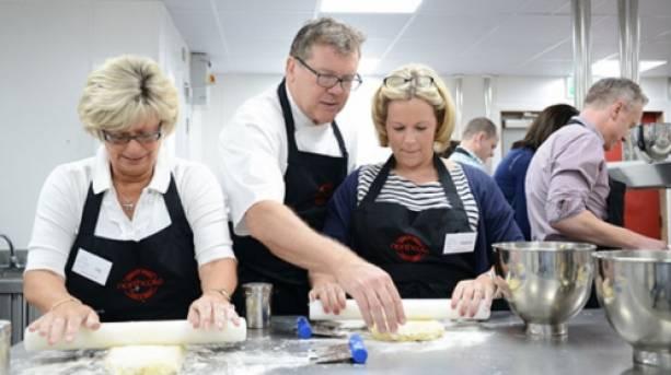 Nigel Haworth teaching at Northcote Cookery School