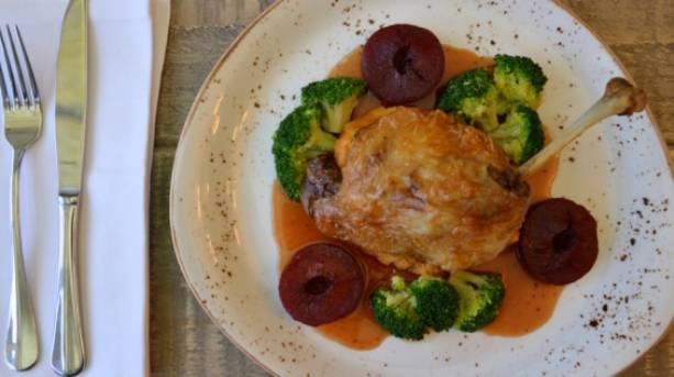 Country cuisine at The Northumberland Arms