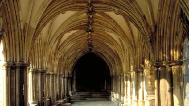 Norwich Cathedral Cloisters the largest in England
