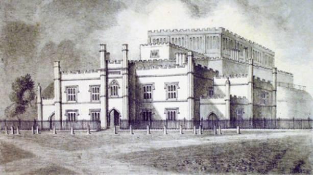 The Shirehall erected 1822