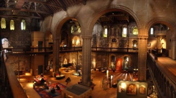 The Keep in Norwich Castle Museum & Art Gallery