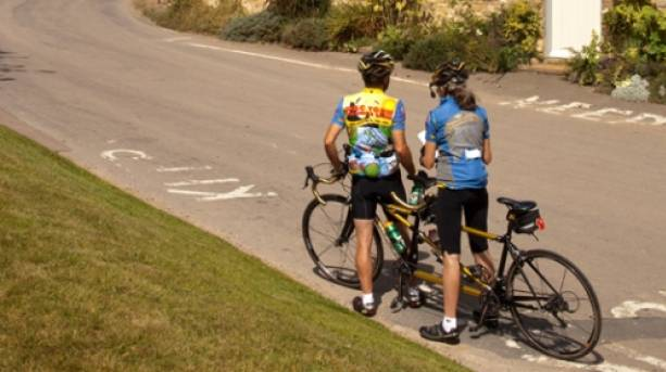 Cycling Guiting Power Cotswolds