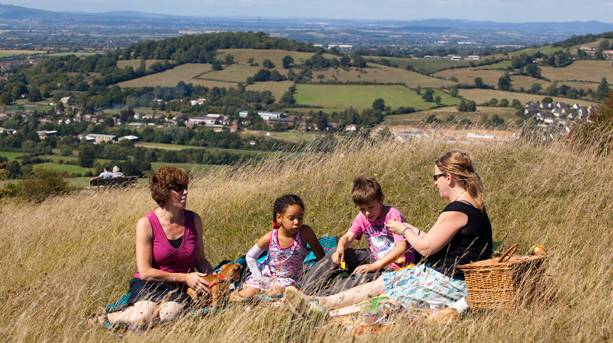 Picnics in the Cotswolds