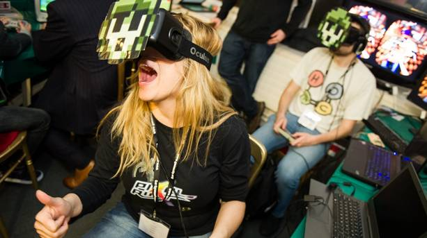 Virtual reality games at the National Videogame Arcade