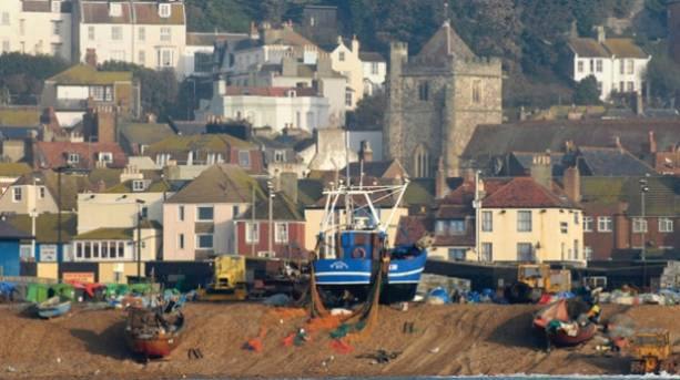 Hastings Old Town and Stade
