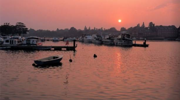 Oulton Broad; Suffolk
